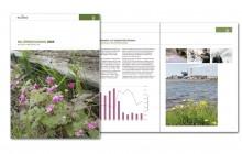 reklambyrån PR 4u har gjort layout på miljöårsredovisning samt text och fotoproduktion