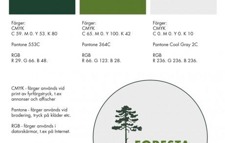 kommunikationsbyrån PR 4u har tagit fram grafisk profil och logotype
