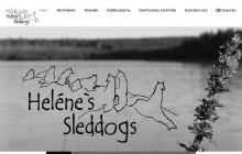 reklambyrån pr4u har producerat helenessleddogs webbplats