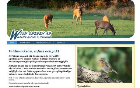 reklambyrån PR 4u har utvecklat hemsida i WordPress